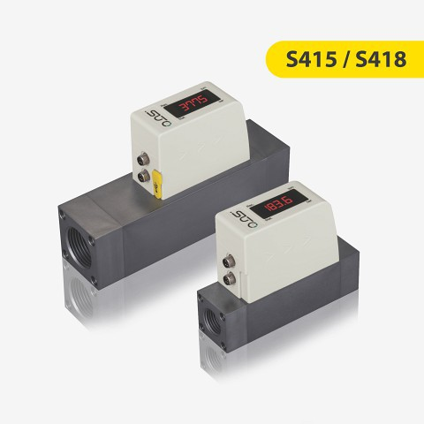 S415 / 418 Flow and consumption sensor